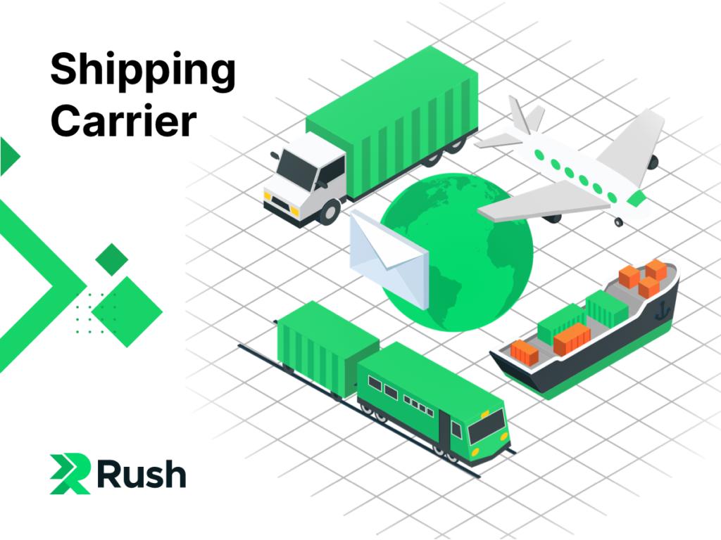 shipping carrier - rush