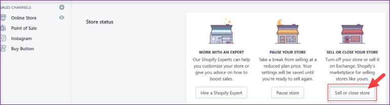 delete Shopify