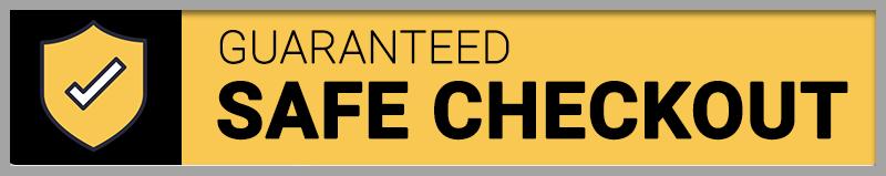 guaranteed safe checkout -